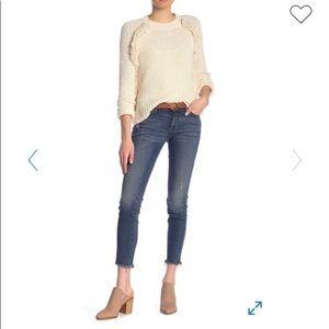 Lucky Brand Lolita Skinny Raw Hem Jeans Size 4/27
